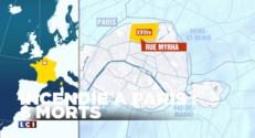 Paris : un violent incendie tue au moins huit personnes, dont des enfants