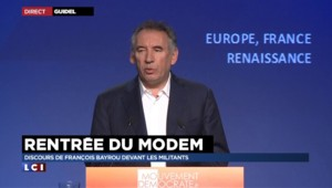 """Syrie : Bayrou appelle à la """"solidatité du pays devant le pire"""" lors de sa rentrée politique"""