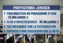 Crise grecque : comme en 2005, Juncker confronté à un nouveau défi d'envergure