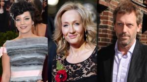 Lily Allen, J. K. Rowling et Hugh Laurie ont été déçus par les résultats du référendum.