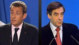 Nicolas Sarkozy et François Fillon/Image d'archives