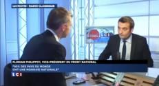 """Philippot sur la monnaie nationale : """"Il y aura un impact totalement minime sur la dette"""""""