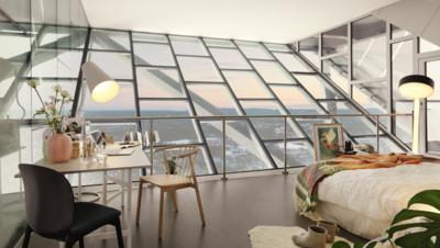 Airbnb propose un tremplin de ski