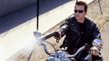 Arnold Schwarzenegger dans le film Terminator 2 : le jugement dernier