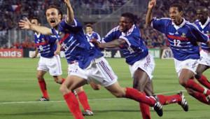 Dugarry 1998 Coupe du monde France Bleus Vélodrome