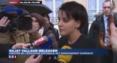"""Enfant entendu : """"Le père a eu une attitude brutale"""" selon Vallaud-Belkacem"""