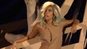 Lady Gaga Bill Clinton