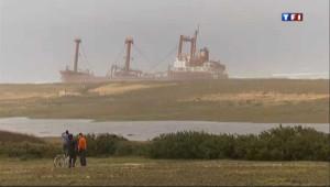 Tempête Joachim : un cargo s'échoue dans le Morbihan