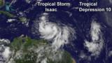 La tempête Isaac se renforce et menace la Floride