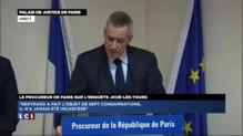 """François Molins : """"les faits commis à Dijon ne revêtent pas de coloration terroriste"""""""