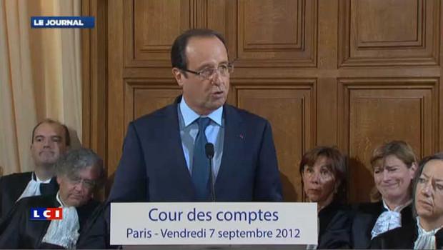 Hollande respectera les 3% de déficit en 2013