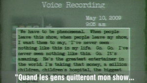 La voix d'outre-tombe de Michael Jackson
