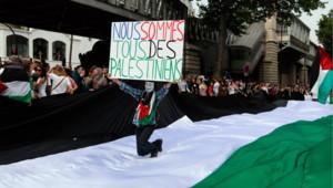 Manifestation en soutien à Gaza, Paris, le 19 juillet 2014 à Barbès