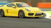Porsche Cayman GT4 Essai Vidéo Automoto 2015