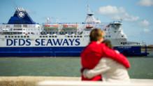 Port Calais ferry bateau