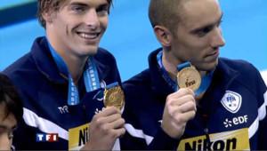 Double médaille d'or dans le camp français à Shangaï.