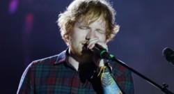 Ed Sheeran en concert en août 2015