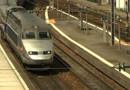 Le TGV Atlantique.