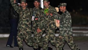 Libération des derniers policiers et militaires séquestrés par les Farc (2 avril 2012)
