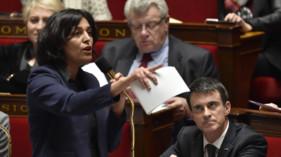 Myriam El Khomri Manuel Valls Assemblée nationale loi Travail