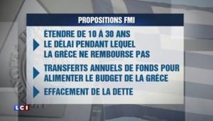 Crise grecque : le FMI réclame une solution plus ambitieuse pour entrer en jeu et fait 3 propositions