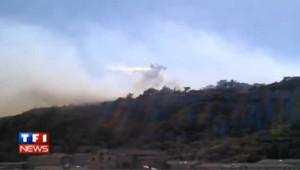 Incendie au dessus de Cavaillon : les images impressionnantes