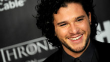 L'acteur anglais Kit Harington, star de Game of Thrones en mars 2013
