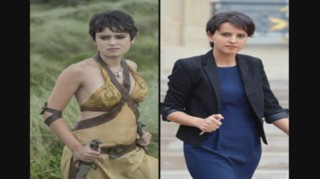 Une actrice de Game of Thrones sosie de Najat Vallaud-Belkacem ?