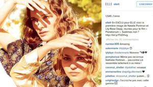 Nathalie Portman et Lily-Rose Depp dans le film Planétarium.
