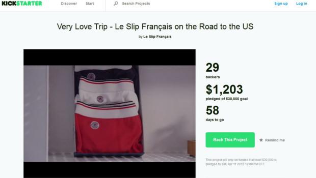 Slip Français Kickstarter