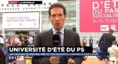"""Université d'été du PS : """"Macron dit tout haut ce qu' Hollande et Valls pensent tout bas"""""""
