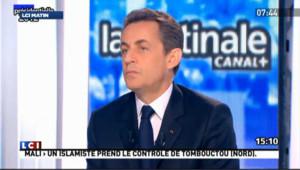 """Des islamistes sur le point d'agir : """"plausible"""" dit Sarkozy"""