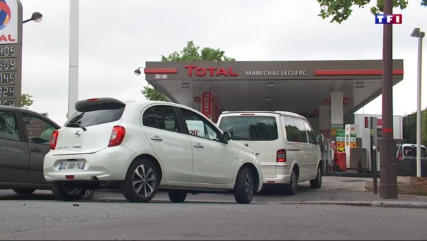 Île de France: la chasse au carburant est ouverte