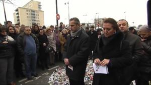 Le 13 heures du 13 janvier 2015 : Les hommages se poursuivent dans la communauté juive de la porte de Vincennes - 801.208