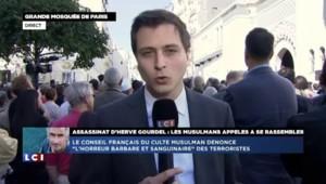 Otage décapité en Algérie : début du rassemblement devant la grande Mosquée de Paris