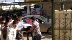Syrie : victimes présumées de gaz toxiques, mai 2013