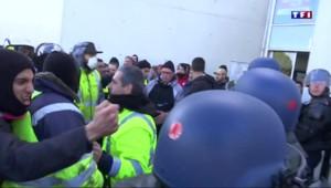 A Fos-sur-Mer, tensions entre militants de la CGT et forces de l'ordre