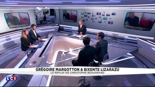 Grégoire Margotton ému jusqu'aux larmes par les mots de Charles Biétry