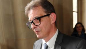 Philippe Houbé, chargé de compte à la société de courtage Newedge et témoin clé au procès en appel de Jérôme Kerviel (14 juin 2012)