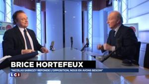 """Pour Hortefeux, """"l'opposition ne cesse de changer d'avis"""" en matière de sécurité"""