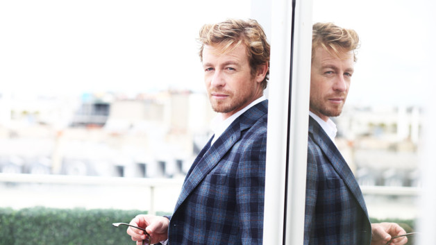Simon Baker à Paris