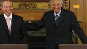 Tony Blair et Dominique de Villepin à Londres TF1/LCI
