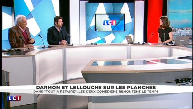 """""""Tout à refaire"""", Darmon et Lellouche évoquent la scène douloureuse de la mort d'un père"""