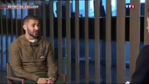 Benzema sur TF1 : sa version de la scène avec Valbuena dans la chambre à Clairefontaine