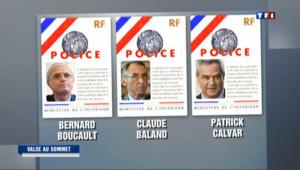 Les trois principaux responsables de la police française remplacés