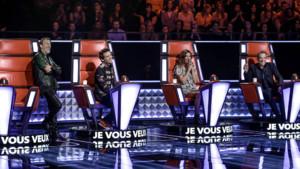 Zazie, Florent Pagny, Garou et Mika dans The Voice 5.
