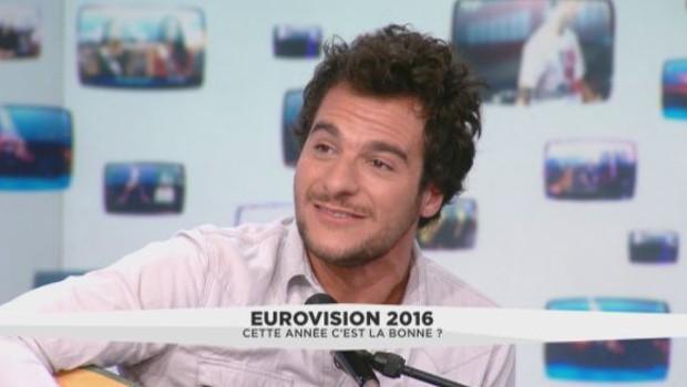 Amir chante en live dans La Médiasphère (07/04)