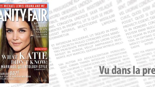 Katie Holmes Vanity Fair