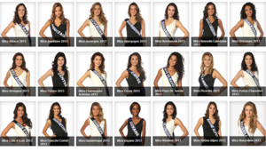 Miss France 2014 : le trombinoscope des candidates