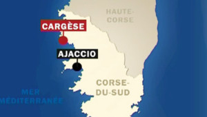 Carte Cargèse